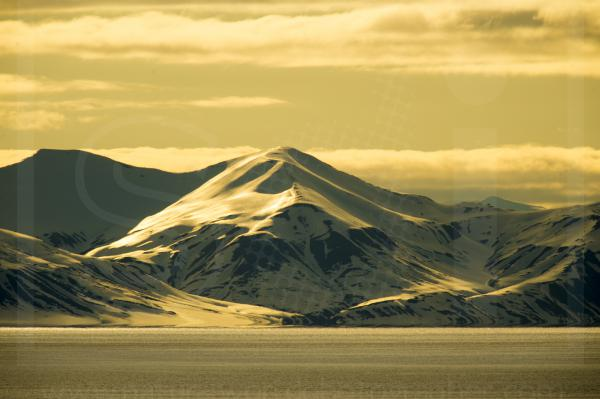 Svalbard Midnight Sun