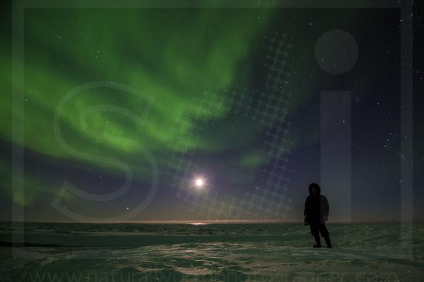 Aurora Borealis and Inuit