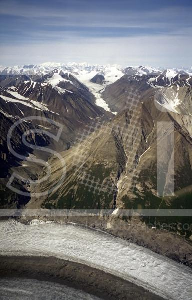 Kaskawalsh Glacier & St Elias Mountains